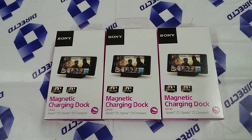 Picture of Sony Xperia Z3 & Z3 Compact- Original Magnetic Charging Dock DK48!
