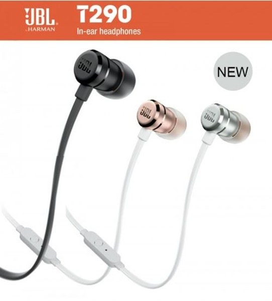 Picture of JBL T290 In-Ear HeadPhones - OFFICIAL JBL Product