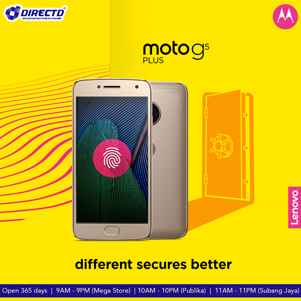 Picture of MOTO G5 Plus - Original by MOTO Malaysia!