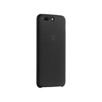 Picture of ORIGINAL OnePlus 5 Silicone Protective Case Black