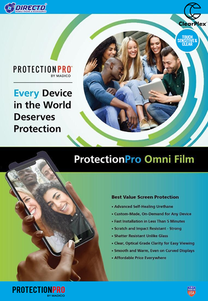 Picture of ClearPlex® LITE  Protection Pro by Madico - The BEST ARMOUR for your phone
