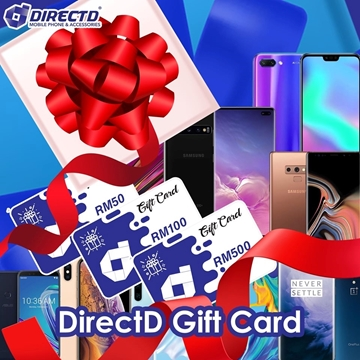 Picture of DirectD Gift Card RM50 | RM100 | RM500 - FREE SHIPPING