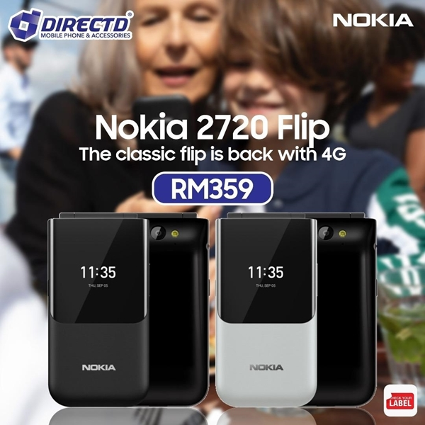 Picture of NOKIA 2720 - The classic flip is back with 4G