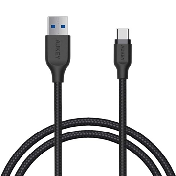 Picture of AUKEY Braided Nylon USB 3.1 USB A To USB C Cable
