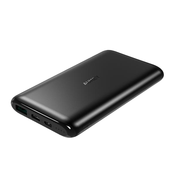 Picture of AUKEY 10000mAh USB-C Rapid charge Ultra Slim Power Bank