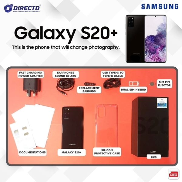 Picture of SAMSUNG GALAXY S20 PLUS (ORIGINAL set) PROMO PRICE RM2599 ONLY
