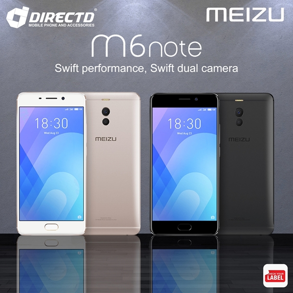 Picture of MEIZU M6 NOTE (4GB RAM | 64GB ROM) ORIGINAL set! CLEARANCE CORNER RM399 ONLY