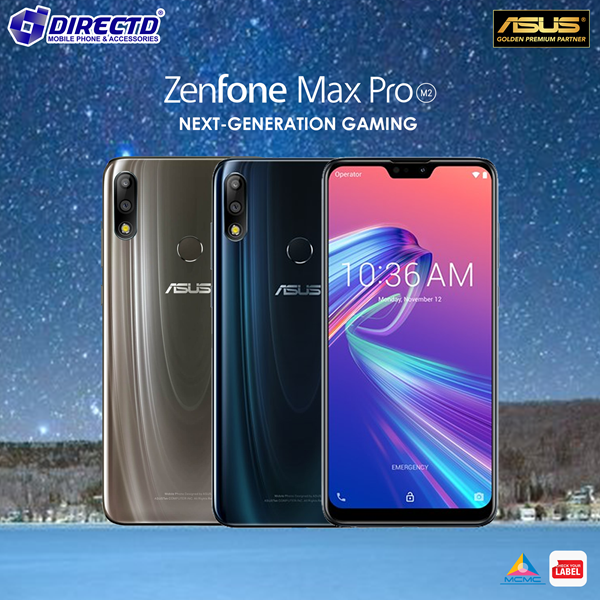 Picture of ASUS ZENFONE MAX PRO (M2) ORIGINAL by ASUS Malaysia - 12 MONTHS WARRANTY by DirectD