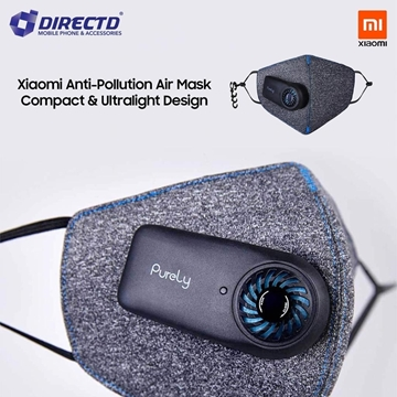 Picture of Xiaomi Purely KN95 Air Mask PM2.5 Filter Mini Fan! READY STOCK..