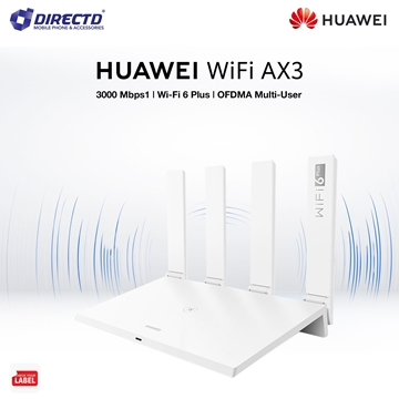 Picture of Huawei Wifi AX3 (Wi-Fi 6 Plus 3000Mbps | Huawei Share | Quad Core 1.4GHz CPU) Original Huawei Malaysia