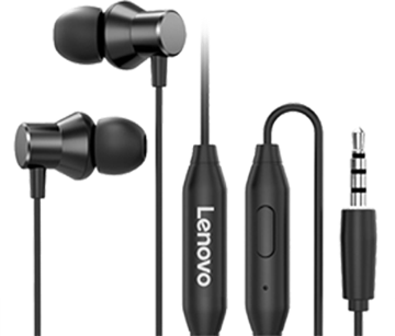 Picture of LENOVO Metal Earphone (HF130) ORIGINAL/GENUINE product by LENOVO