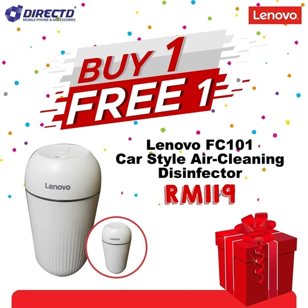 Picture of LENOVO Car Style Air Cleaning Disinfector (FC101) - BUY 1 FREE 1 PROMO