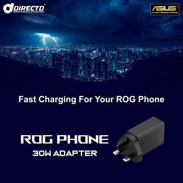 Picture of ORIGINAL ASUS ROG Phone 30W Charging Adapter (3 PIN) - Suitable for ROG1,2 & 3