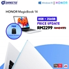 Picture of HONOR MagicBook 14 (AMD Ryzen 5 3500U | 8GB DDR4 2400MHz | 256GB PCIE NVME SSD) ORIGINAL by HONOR Msia
