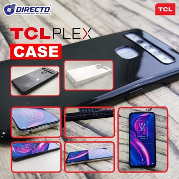Picture of TCL PLEX Silicon Case - Available in Transparent & Black
