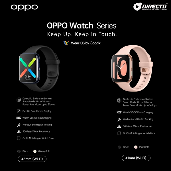 Picture of OPPO Watch (41mm) Original by Oppo Malaysia!