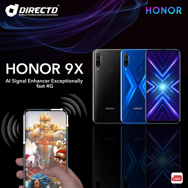 Picture of HONOR 9X (6GB RAM | 128GB ROM | SUPPORT GMS) ORIGINAL set by HONOR Msia!