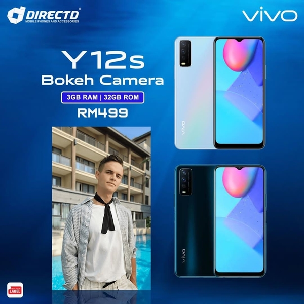 Picture of VIVO Y12s (3GB RAM | 32GB ROM | 5K BATT | RM499 ONLY) ORIGINAL set!
