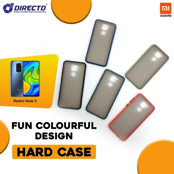 Picture of FUN Colourful Design Hard Case for XIAOMI REDMI NOTE 9 - PERFECT FITTING! Available in 6 colors