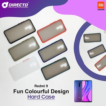Picture of FUN Colourful Design Hard Case for XIAOMI REDMI 9 - PERFECT FITTING! Available in 6 colors