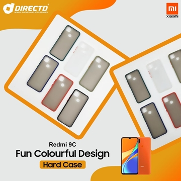 Picture of FUN Colourful Design Hard Case for XIAOMI REDMI 9C - PERFECT FITTING! Available in 6 colors