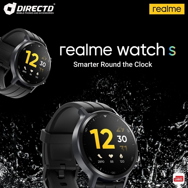 Picture of RealMe Watch S (NEW MODEL) ORIGINAL, 1 year 1-to-1 exchange warranty by realme Malaysia