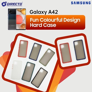 Picture of FUN Colourful Design Hard Case for SAMSUNG Galaxy A42 - PERFECT FITTING! Available in 6 colors
