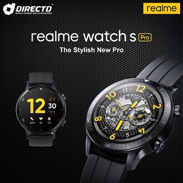 Picture of realme Watch S PRO - LATEST MODEL by realme Msia! 1 year 1-to-1 exchange warranty