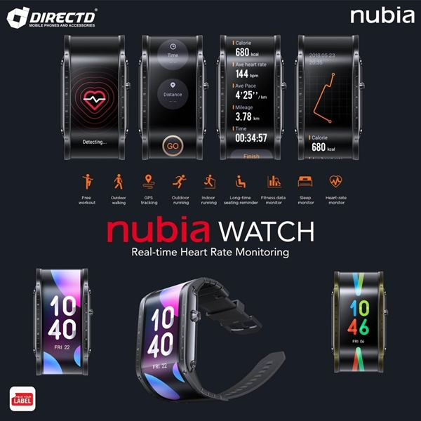 """Picture of NUBIA Watch (4.01"""" FLEX OLED Flexible) ORIGINAL by ZTE Msia"""