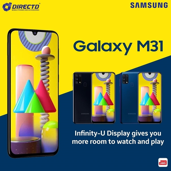 Picture of SAMSUNG GALAXY M31 ( 6GB RAM | 128GB ROM | 6000mAh💪) ORIGINAL set