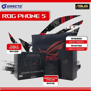 Picture of ASUS ROG Phone 5 Official Gear (ORIGINAL by ASUS Malaysia)