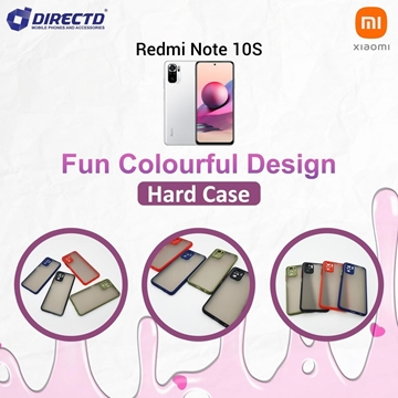Picture of FUN Colourful Design Hard Case for XIAOMI Redmi NOTE 10S -  Available in 6 colors