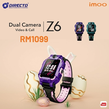 Picture of IMOO Z6 Watch Phone ( HD Video Call | Waterproof | Wide Angle Camera)
