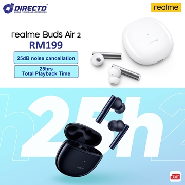 Picture of realme Buds Air 2 (88ms super low latency | Dual mic | ANC) Original by realme Malaysia