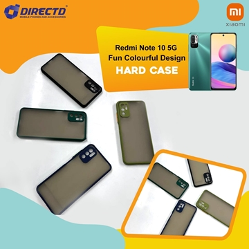 Picture of FUN Colourful Design Hard Case for XIAOMI REDMI NOTE 10 5G - PERFECT FITTING! Available in 6 colors