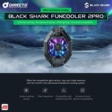 Picture of Black Shark FunCooler 2 PRO - ORIGINAL Accessories by Black Shark Malaysia