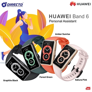 Picture of HUAWEI BAND 6 (AMOLED 43mm band)LATEST MODEL! ORIGINAL by HUAWEI