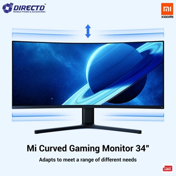 """Picture of Xiaomi Mi Curved Gaming Monitor 34"""" (144Hz   2K resolution   4ms) ORIGINAL by XIAOMI Malaysia"""