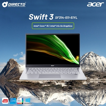"""Picture of Acer Swift 3 SF314-511-51YL (14"""" FHD IPS 