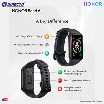 Picture of HONOR BAND 6 - LATEST MODEL! ORIGINAL by HONOR Malaysia