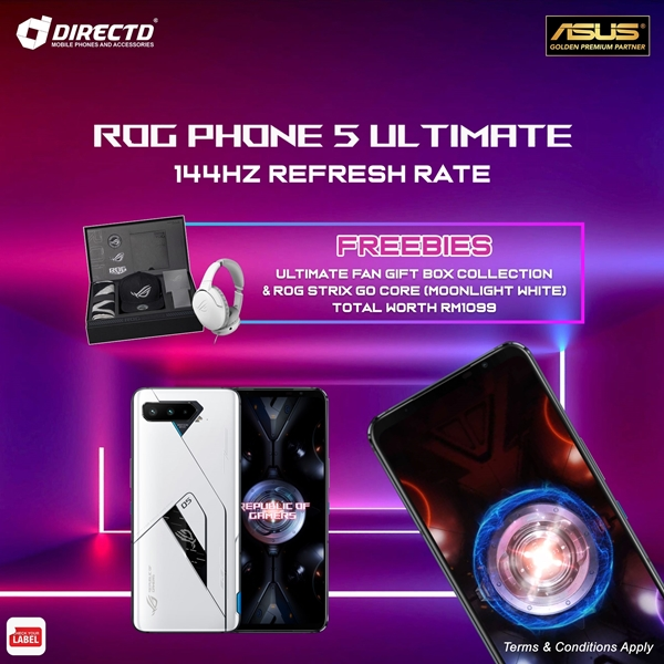 Picture of ASUS ROG Phone 5 PRO / ULTIMATE (16GB RAM/18GB RAM) CLOSED FOR PRE-ORDER