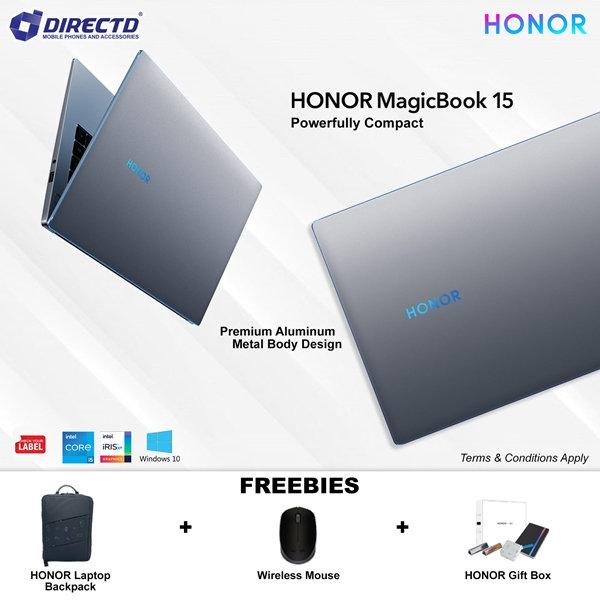 Picture of HONOR Magicbook 15 2021 (Core i5 11th Gen   16GB DDR RAM   512GB NVMe)