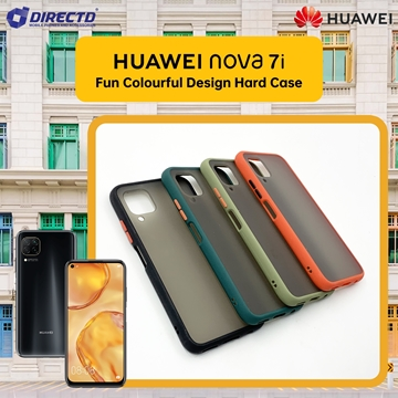 Picture of FUN Colourful Design Hard Case for HUAWEI nova 7i - PERFECT FITTING! Available in 6 colors