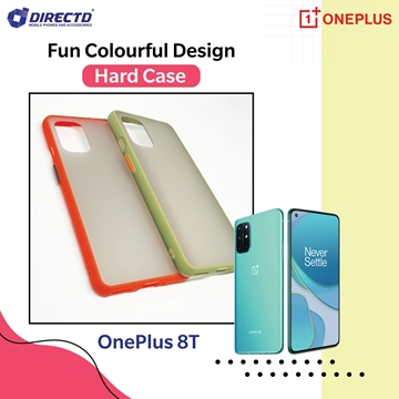 Picture of FUN Colourful Design Hard Case for OnePlus 8T - PERFECT FITTING! Available in 6 colors