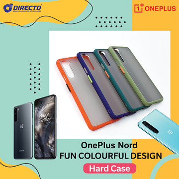 Picture of FUN Colourful Design Hard Case for OnePlus NORD - PERFECT FITTING! Available in 6 colors