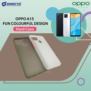 Picture of FUN Colourful Design Hard Case for OPPO A15 - PERFECT FITTING! Available in 6 colors