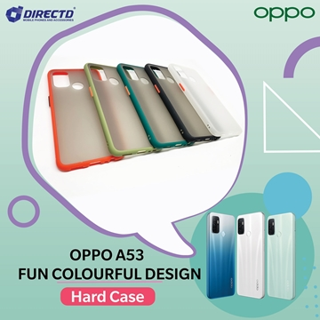 Picture of FUN Colourful Design Hard Case for OPPO A53 - PERFECT FITTING! Available in 6 colors