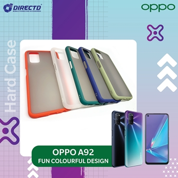 Picture of FUN Colourful Design Hard Case for OPPO A92 - PERFECT FITTING! Available in 6 colors