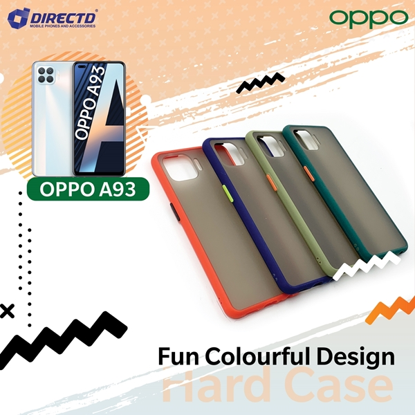 Picture of FUN Colourful Design Hard Case for OPPO A93 - PERFECT FITTING! Available in 6 colors