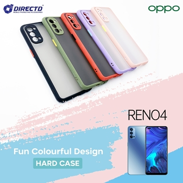 Picture of FUN Colourful Design Hard Case for OPPO RENO 4 - PERFECT FITTING! Available in 6 colors